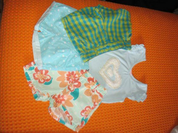 Къси панталони за момиченце - 4-5 години