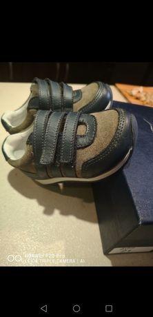 Papuci cu scai mărimea 21 din piele