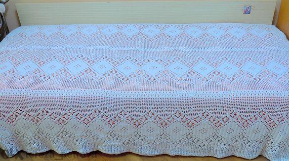 Плетена Кувертюра за Легло