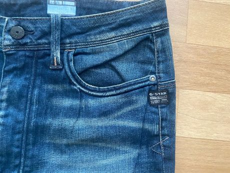 G Star Elect X Loose Tapered Women Comfort Stone Denim jeans