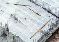 Баннер для накрытия  бетона при обогреве