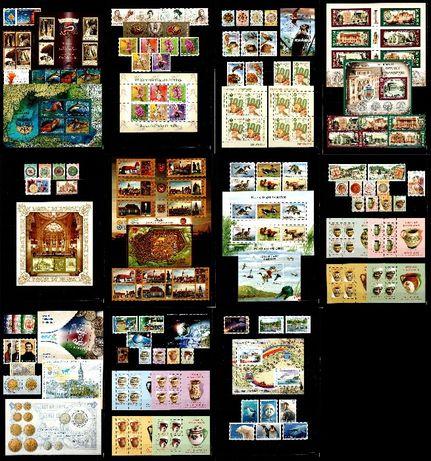 Timbre Romania 2007 - AN COMPLET!!! 94 timbre + 26 blocuri, MNH!