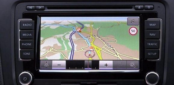 Harti NAVI GPS Volkswagen VW, Seat, Skoda RNS 310 315 VDO 510 810 MFD