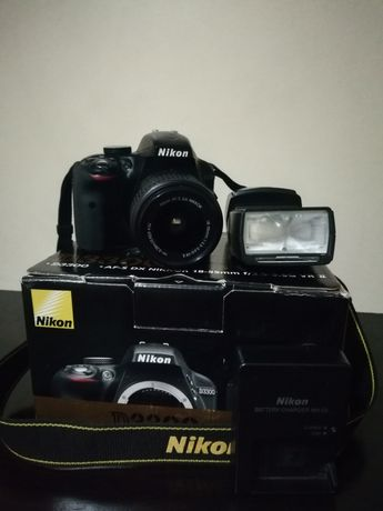 Nikon D3300+ Bliț