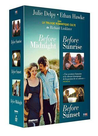 Filme Romantice DVD Before Sunset / Sunrise / Midnight ( Originale )
