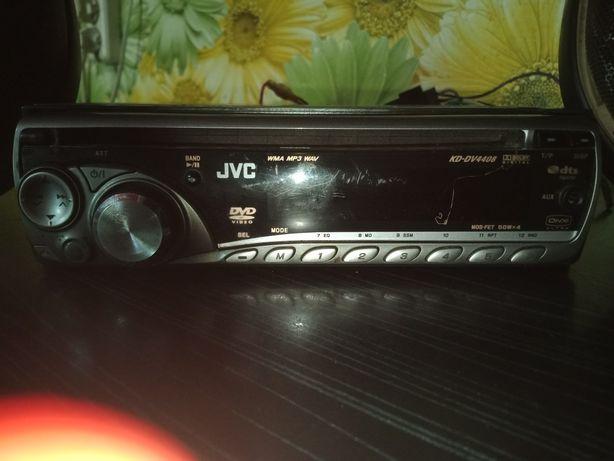 Продам магнитолу JVC и колонки блины KENWOOD