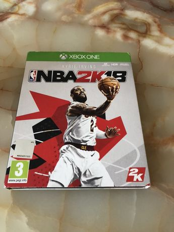 Xbox one nba 2k18 2018 steelbook ed limitata
