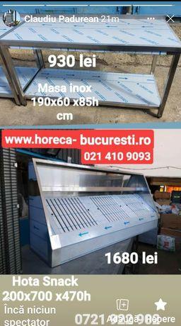 Masa inox / mese inox / horeca depozit / hota inox / Spalator inox cuv