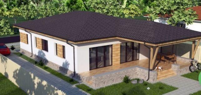 Casa noua de vânzare!Semifinisata!400 mp teren