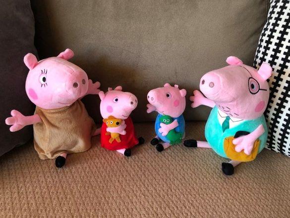 плюшено семейство, играчки ПЕПА ПИГ / PEPPA PIG