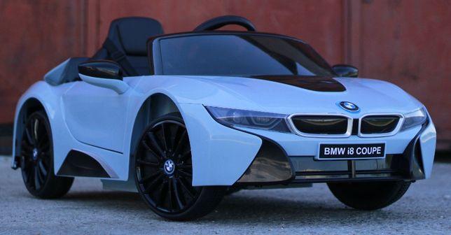 Masinuta electrica pentru copii BMW i8 12V Coupe STANDARD #Albastru