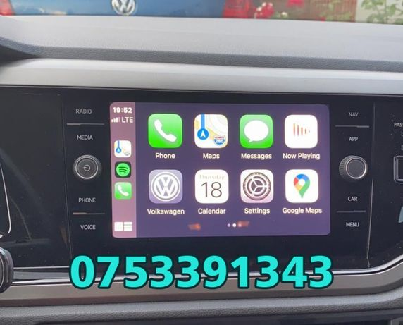 Volkswagen App-Connect Skoda Seat Waze Carplay AndroidAuto Youtube