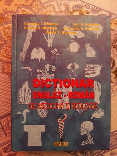 dictionar englez-român de medicină si biologie