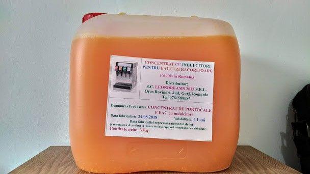Concentrat pentru suc cu aroma de Portocale