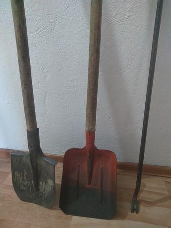Лопата штыковая, савковая