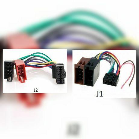 Adaptoare conectori mufe radio CD auto EURO la ISO JVC