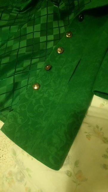 Palton verde toamna -iarna