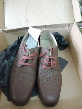Pantofi militari de vară, maro