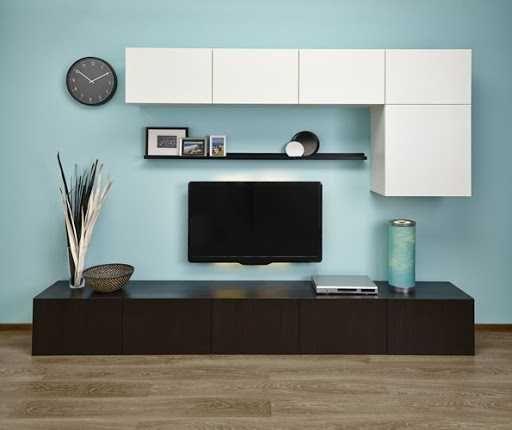 Тумба для телевизора  IKEA БЕСТО сборная