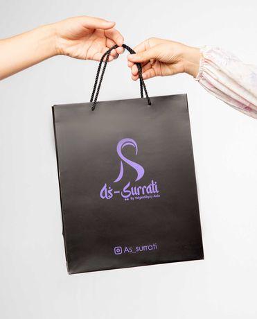 Пакеты с логотипом Полиэтиленовый Крафт Подарочный Доставка в подарок!