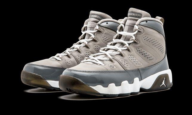 Adidasi Jordan 9 Retro Cool grey 2012 marimea 45 29 cm