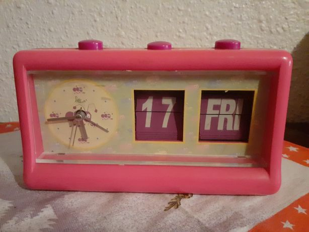 Ceas de masa Hetio Fenetticu data pentru copii
