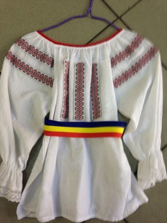 VAND camasa IE bluza COPII costum national traditional popular 3-6-9 1