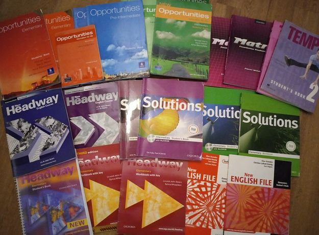учебникиNew Headway Solutions английский Верещагина Афанасьева Доставк