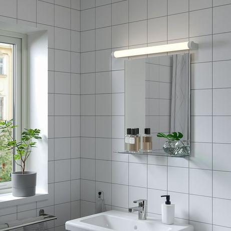 Новое зеркало с полкой для ванной комнаты
