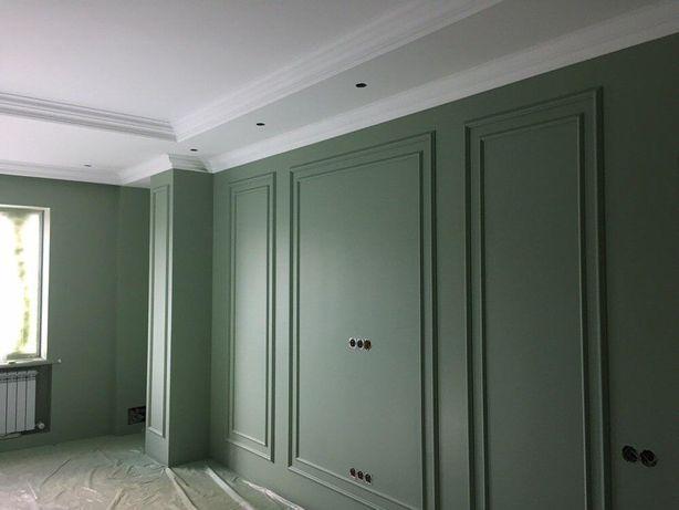 Побелка потолков покраска стен быстро качественно в срок
