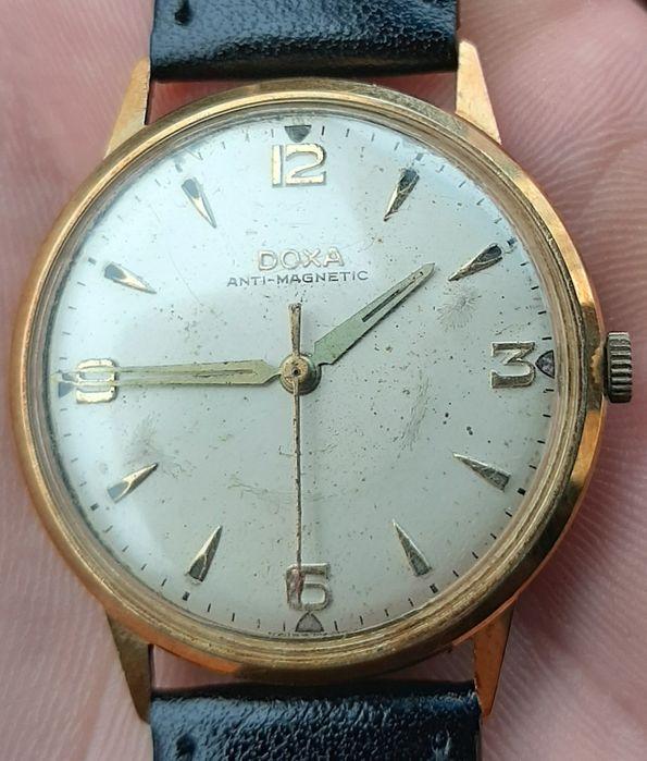 """Ceas vintage""""DOXA""""Antimagnetic 585 Craiova - imagine 1"""
