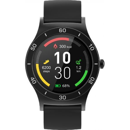 #Ceas Smartwatch Evolio X-Watch 4, monitorizare puls, Curea silicon#