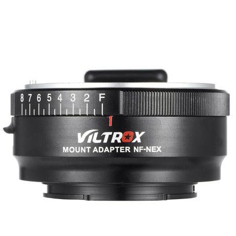 Viltrox Адаптер Nikon F към Sony NEX E mount с контрол на блендата