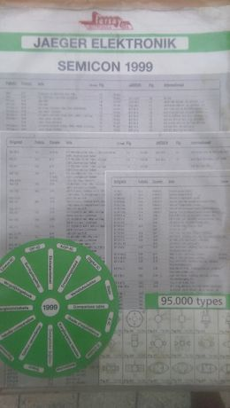 Carte de electronica Semicon 1999 Jaeger Elektronik-Germany