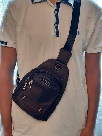 Мужские Сумки рюкзак через плечо, барсетки,  подарок