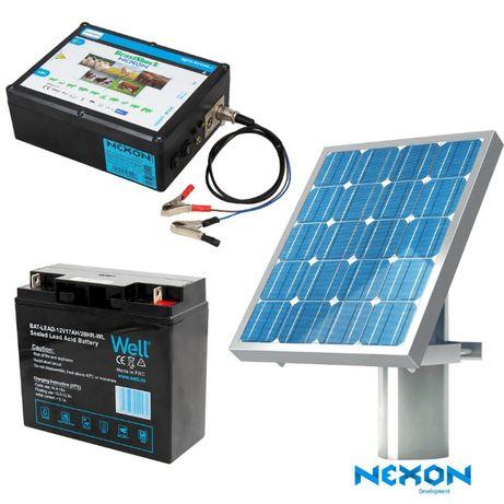 Gard electric Nexon BeastShock 8.5J+Solar 50W+Acumulator 17Ah