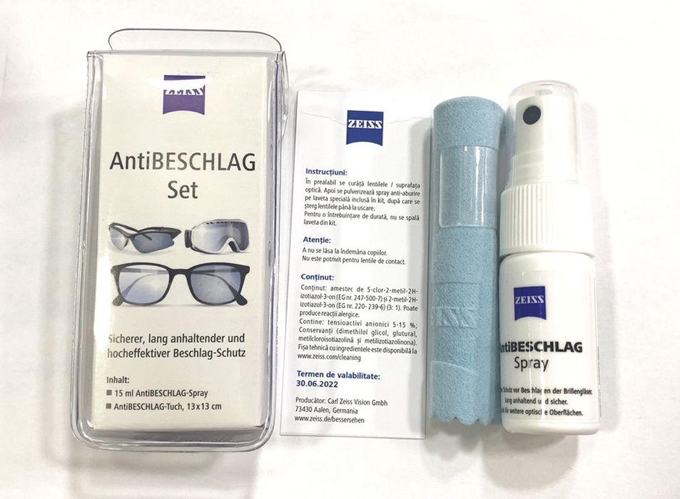 Kit Zeiss Anti-Aburire/ Solutie zeiss anti aburire/Zeiss anti fog Bucuresti - imagine 1
