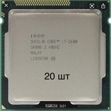 Процессор  Core i7 - 2600 Sandy Bridge (3400MHz, LGA1155, L3 8192Kb