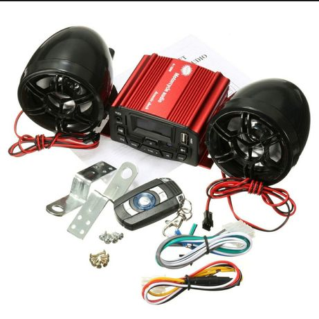 Sistem Audio  ATV - UTV - BUGGY - MOTOCICLETA etc
