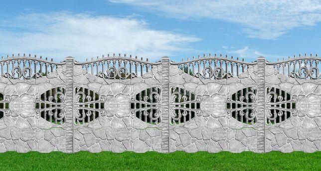 Gard decorativ din beton armat/placi prefabricate Calarasi