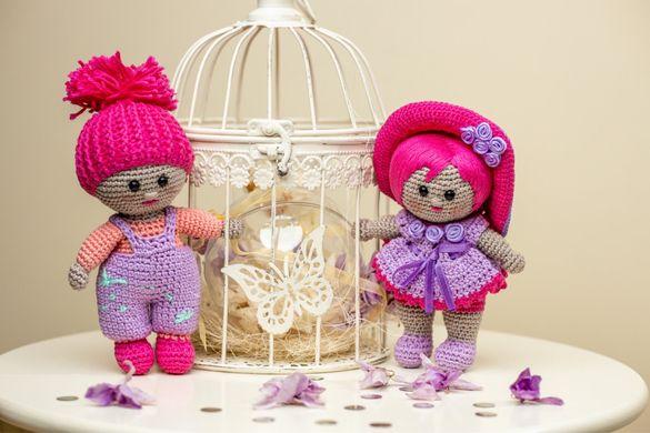 Плетени играчки на една кука-Бебе и Момиченце