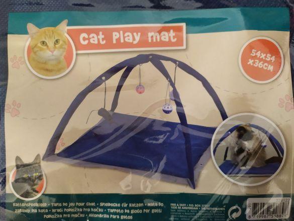 Котешка игрална постелка