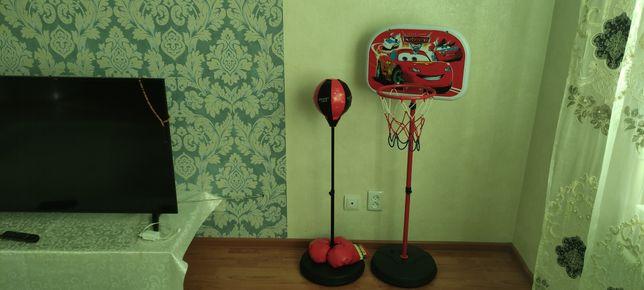 Продам срочно баскетбол кольцо и грушу .