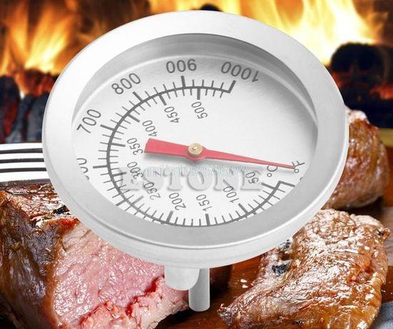 Termometru inox gratar gril cuptor barbeque boiler max 530 grC
