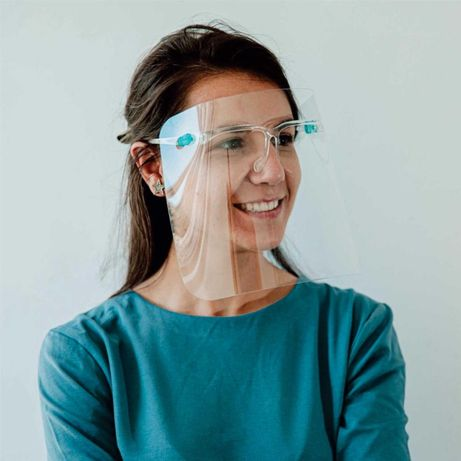 Viziera medicala/stomatologica pe rama de ochelari, viziera VIP