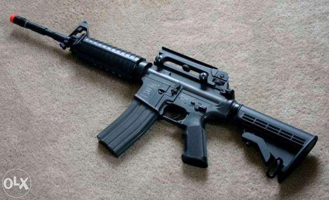 Pusca MANUALA Colt M4 (Ultra Puternica!! Airsoft)cu aer comprimatco2