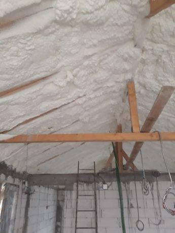 Izolatii/izolatie spuma poliuretanica mansarde, terase, fundatii Gorj