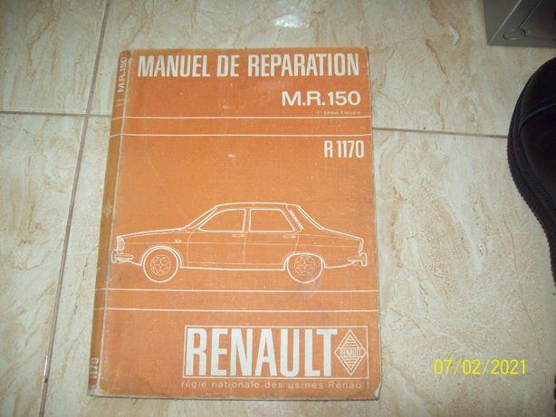 Carte reparatii mecanica electrica auto MR 150 Dacia 1300 Renault 12