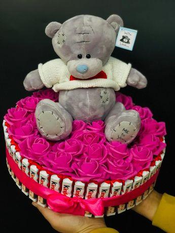 Сладкие подарки с мишками Тедди