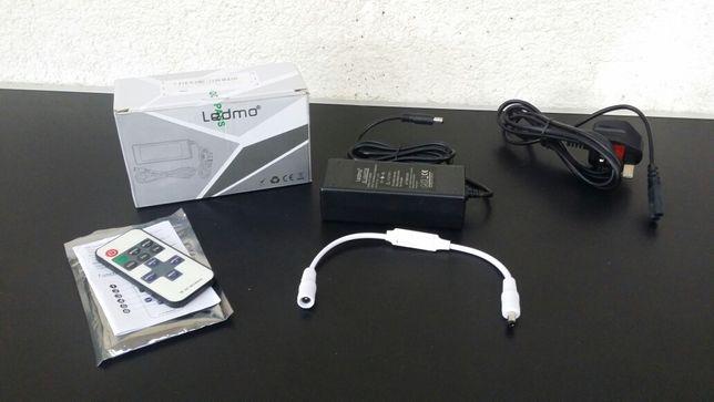 Sursa -alimentator -controller -telecomanda - banda - led -12v - LEDMO